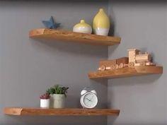 PROJECT: Making Live-Edge Floating Shelves