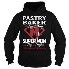 Pastry Baker Super Mom Job Title TShirt