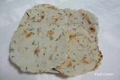 Food Corner: Sri Lankan Pol Roti (Coconut Roti/Sri Lankan Flat Bread)