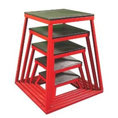 Ader Plyometric Platform Box Set 12 18 24 30 Red *** To view further for this item, visit the image link. (This is an affiliate link) Basketball Training Equipment, Crossfit Equipment, Football Equipment, No Equipment Workout, Crossfit Gear, Crossfit Video, Personal Training Studio, Basketball Coach, Plyometrics
