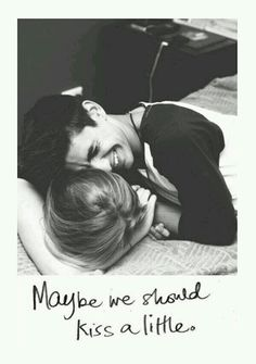 Maybe we should...