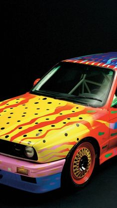 BMW Art Car - 1989 M3 Group A - Ken Done