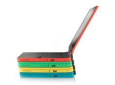 Classy Curved Chromebook | Yanko Design