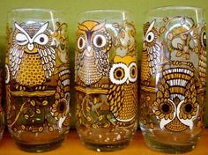 Someday I want a cabinet full of really cool glasses