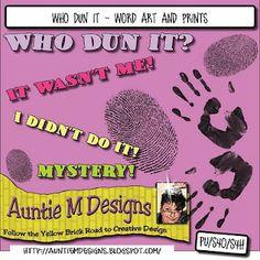 Who Dun It Kit