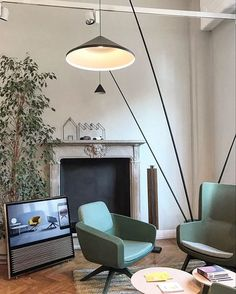 @archiproducts  Milano @truedesignofficial | ARCA designed by Orlandini Design @truedesignofficial | MILLEPIEDI designed by @parisottoformenton @vibialight | NORTH floor lamp designed by Arim Levy @bangolufsen | BEOVISION 14 television