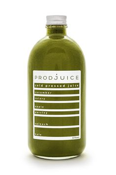 Prodjuice Cold pressed Juice on Packaging of the World - Creative Package Design Gallery