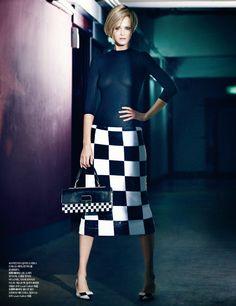 Carmen Kass in 'Mode's Code' Mod by Choi Yong Bin for Harper's Bazaar Korea February 2013 - 8 Style | Sensuality Living - Anne of Carversville Women's News