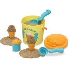 Melissa & Doug Sunny Patch Speck Seahorse Sand Ice Cream Set, (beach toys, melissa and doug, pretend play, sand toys) Ice Cream Toy Set, Play Ice Cream, Sand Play, Sand Toys, Water Toys, Beach Toys, Unique Toys, Melissa & Doug, Outdoor Toys