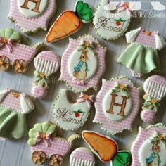 Peter Rabbit Baby Cookies