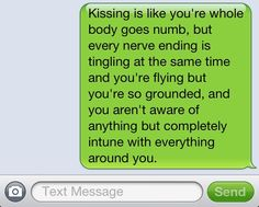 I have only experienced this with one person... Does that make him the one??? From the mind of Matthew Howland