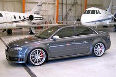 Audi RS4 - nice brakes.