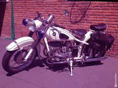 My 1954 policebike! Bmw R51/3