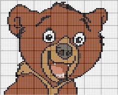 Brother Bear Disney hama perler beads pattern