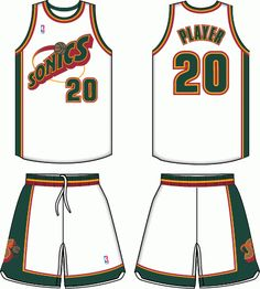 491b1fed026 Seattle Supersonics Home Logo on Chris Creamer's Sports Logos Page -  SportsLogos. A virtual museum of sports logos, uniforms and historical  items.