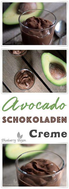 Vegane Schokocreme mit Avocado und Joghurt
