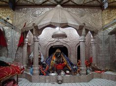 "Magadha Shakthi Peeth is the place where Devi Sati's Right Thigh fell. Here Devi is worshipped as Sarvanandakari (also known as Bari Patan Devi) and Lord Shiva as Vyomkesha. It is also believed that Devi Sati's ""pat"" (cloth) fell at Patna and the Devi is called as Choti Patan Devi."