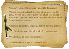 exemple de anacolut Romanian Language, Good To Know, Learning, Languages, Studying, Teaching, Education