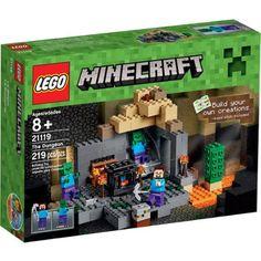 LEGO Minecraft The Dungeon, 21119 - Walmart.com