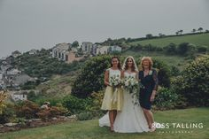 Beautiful Suzanne Neville real bride Emma wearing her bespoke gown 'Serenade'. What a lovely setting for a wedding.
