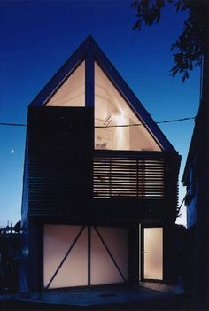 A modern small house....