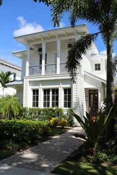 Modern Houses — British West Indies architecture in Naples, FL...