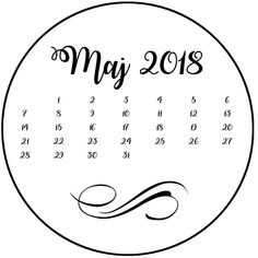 agnieszkapasjonata: 817. Kalendarz do boxa... maj 2018 Aqa, Blog Page, How To Plan