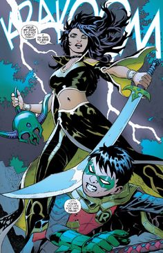 After Batman and Frankenstein locate Ra's and the bodies, they are too late as Ra's has successfully had them placed in a Lazarus Pit, leaving Batman in dread of Damian's fate.[47] The resurrections fail, leaving Ra's to realize his arrogance for allowing the Heretic to kill his grandson, and regret of allowing Talia to clone Damian. After defeating Ra's in combat, Batman reclaims Damian's body and threatens his son's maternal grandfather that if he steals his son's body again, he will kill…
