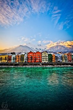 Innsbruck, Tyrol, Austria I'd love this as a large canvas print travel places to visit want to go beautiful lake mountains ocean mountain beach escape escapes world vacation destination