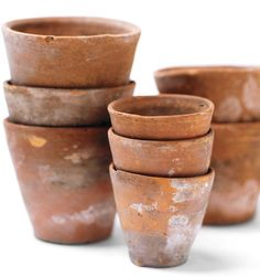 Organic Gardening Supplies Needed For Newbies If Our Sideboard Is To Become A Part-Time Garden Bench, Then These In-Flux, Empty Terra Cotta Pots Can Double As Perfect Decor. They Are The Color Of Our Farm Eggs And The Weathered, Stained Clay Just Makes Me