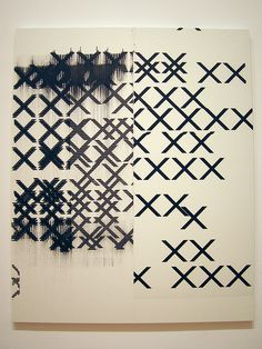 All sizes | MoMA 063 Wade Guyton | Flickr - Photo Sharing!