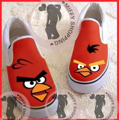 Canvas Painted Shoes