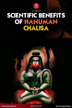 "The Word Hanuman Chalisa has a wonderful meaning. In Hinduism, Lord Hanuman is considered an icon of valor, devotion, and courage. Lord Hanuman, who is considered to be Rudravatar of Shiva. It is also known by the names Bajrangbali, Pawanaputra, Marutinandan, Kesari, etc. The word ""Chalisa"" was derived from the Hindi word ""Chalis"" which means forty (40). It represents 40 verses in the hymn. Hanuman Chalisa Benefits, Motivation Movies, Chakra Affirmations, Hindi Words, Why Read, What Is The Secret, Meditation Benefits, Spirituality, How Are You Feeling"