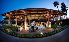 Bali Hai Weddings and Banquets: The spectacular view of San Diego Bay and the downtown skyline make it the perfect location for any special event.