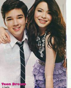 I Carly Freddie and Carly, always thought they'd make a cute couple