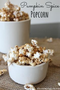 Jazzed Up Popcorn on Pinterest | Popcorn Recipes, Popcorn and Caramel ...