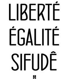 Arte SIFUDE de Cerqueira World   Disponível em camiseta, poster, almofada, caneca e case de celular. Só na @toutsbrasil