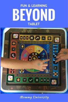 Beyond Tablet brings learning through play to a new level with a screen less game system.  (sponsored)