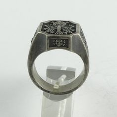 Skull Cross Ring Knights of Columbus TFMM Tempus fugit