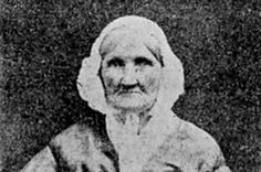 A picture of Hannah Stilley, born in 1746. She was the earliest born individual to be captured on film.