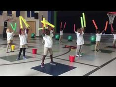 This activity incorporates music into a PE lesson. This can be beneficial for students who enjoy the arts and those who may not be excited about PE. This activity is suitable for younger grades, and it teaches rhythm and strengthens cardio endurance. Elementary Physical Education, Elementary Pe, Music Education, Health Education, Pe Lessons, Music Lessons, Pe Activities, Physical Activities, Music Activities For Kids