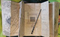 Marauders map inside