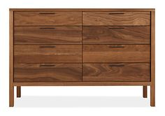 Mills Wood Dressers - Modern Dressers - Modern Bedroom Furniture - Room & Board