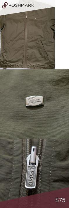 67d4e096455 Mens ~lacoste~ Reversible Bomber Jacket Men's Lacoste reversible bomber  jacket, size 3XL or