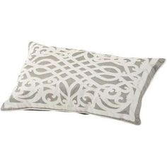 http://www.nigelohara.com/libra-taupe-applique-cushion-30-x-50-397003-pid48847.html  #cushion #furnishyourhome #libra
