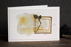 der kleine klecks: Gratulation & Hagebutte Beeren und Samen von Alexandra Renke, Rahmen-Quadrat, Aquarellhintergrund, Gratulation Renke