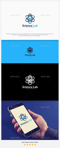 Science Lab - Atomic Lab Logo - Symbols Logo Templates