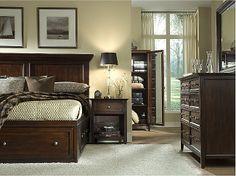 Spencer King Storage Bed | HOM Furniture