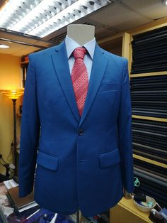 and Extra Long Sizes Big and Tall Navy Premium All Wool Classic Blazer to Size 72 in Portly Regular Short Long