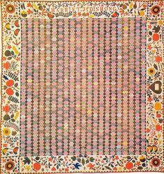 Pieced & Applique Quilt 1890 Pennsylvania by SurrendrDorothy, via Flickr